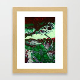 """Green Compliments"" Framed Art Print"