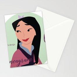 Enneagram 6 Mulan Stationery Cards