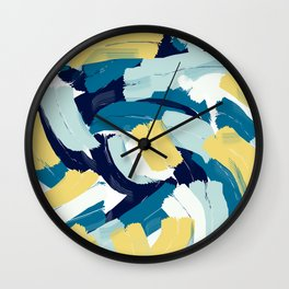 Abstract painting 111 Wall Clock