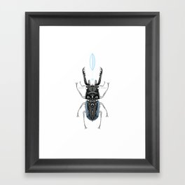 the cup. Framed Art Print