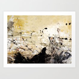 abstract 38 Art Print