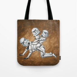Stormtrooper Horsey Ride Tote Bag