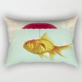 under cover goldfish 02 Rectangular Pillow