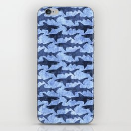 Blue Ocean Shark iPhone Skin