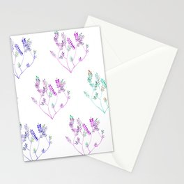 Little sprig pattern Stationery Cards
