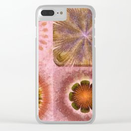 Paranosic Being Flower  ID:16165-061019-67020 Clear iPhone Case