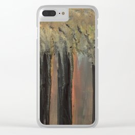 Penumbral Forest Clear iPhone Case