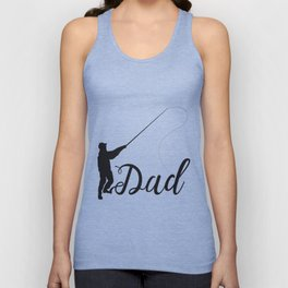 Fisherman Dad Funny Father's Day Gift Unisex Tank Top