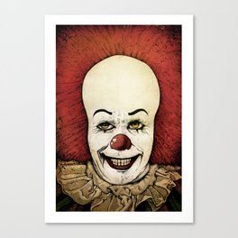 It - Pennywise (Color Version) Canvas Print