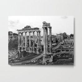 Roman Forum Metal Print