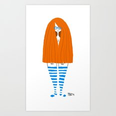New Socks Art Print