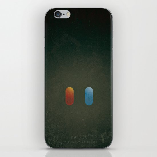 SMOOTH MINIMALISM - Matrix iPhone & iPod Skin