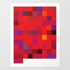 72-10 (96 Bulls) Art Print