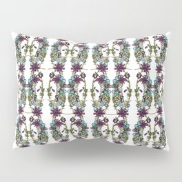 Paige McCann-Gray, Surface Pattern Designer. Heather and Crystal Collection.https://society6.com/pai Pillow Sham