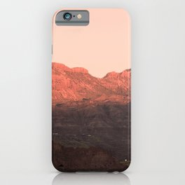 Above the empty sky iPhone Case