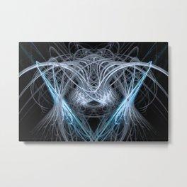 Cats Cradle Metal Print