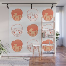 sleepy jongins Wall Mural