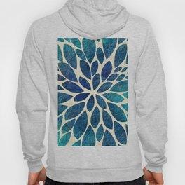 Petal Burst - Turquoise Hoody