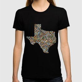 Map of Texas T-shirt