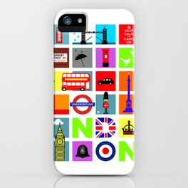 The City London iPhone Case