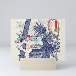 Palolem beach Mini Art Print