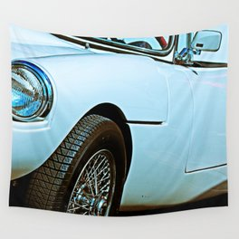 Vintage Sports Car Wall Tapestry