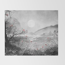 The red sounds and poems, Chapter II Throw Blanket