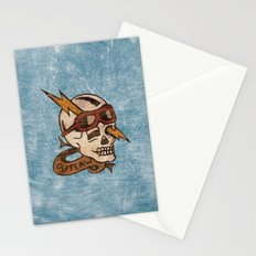 Old Timey Tattoo Design Stationery Cards