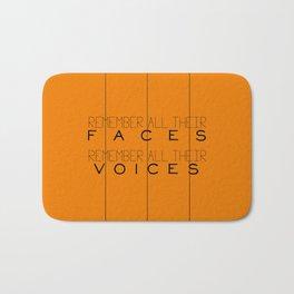Remember - Orange is the New Black Bath Mat