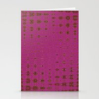 hot pink Stationery Cards featuring Hot Pink by Dorothy Pinder