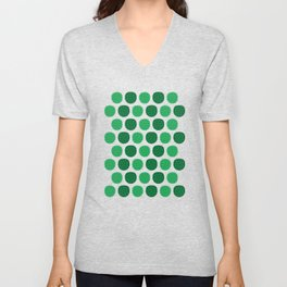 Dotty Durians - Singapore Tropical Fruits Series Unisex V-Neck