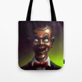 Night of the Living Dummy Tote Bag