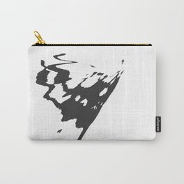 Butterfly Minimal Abstract Carry-All Pouch
