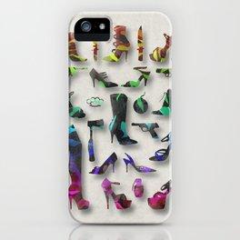 Female Trouble iPhone Case