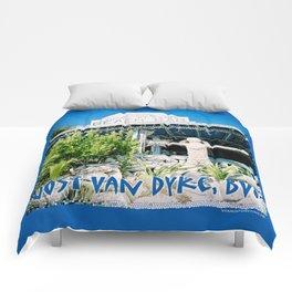 Ivan's on Jost Van Dyke, BVI- World's best honor bar! Comforters