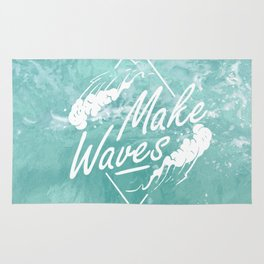 Make waves Rug