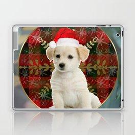 Golden Lab Puppy Present Laptop & iPad Skin
