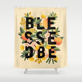 BLESSED BE LIGHT Shower Curtain