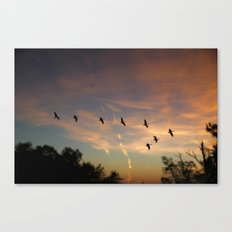 Homeward Canvas Print