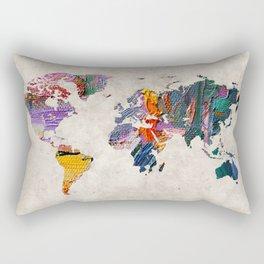 World Map 59 Rectangular Pillow