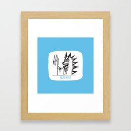 aberdeen Framed Art Print