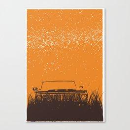 Truck - Starry Skies Series 1 Canvas Print