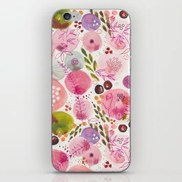 Pink Bubble for a Happy Spring iPhone Skin