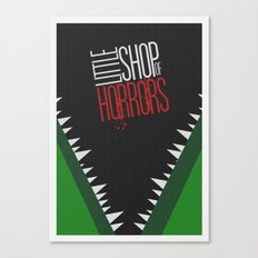 Little Shop of Horrors Canvas Print