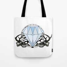Diamond and skulls Tote Bag