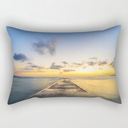 Golden Hour in Waikiki Rectangular Pillow