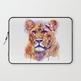 Lioness Head Laptop Sleeve