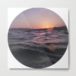 Turkish Sunset Metal Print