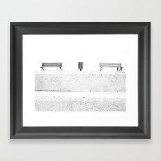 seats Framed Art Print