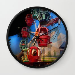 """Air Zoo"" Wall Clock"